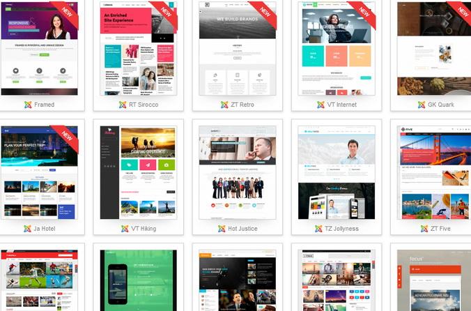 Шаблоны для joomla. Фото: cmsheaven.org