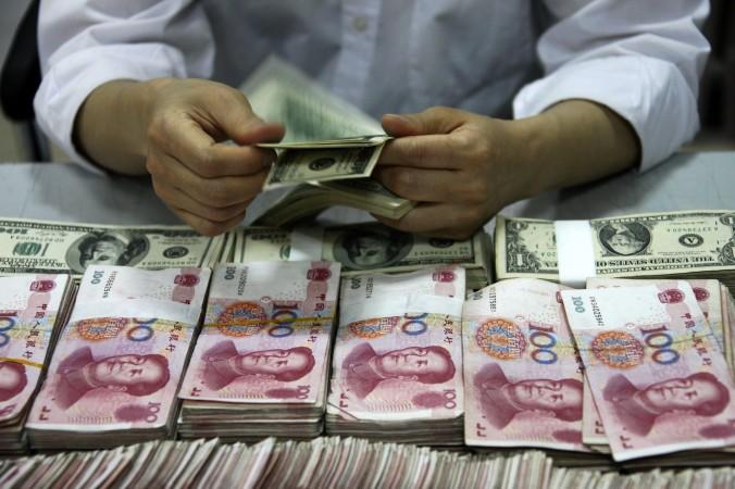юань, доллар