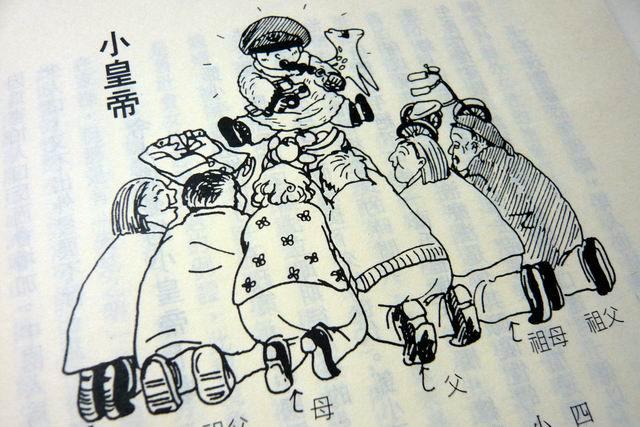 Карикатура на «маленького императора». Источник: twnathan.blogspot.com
