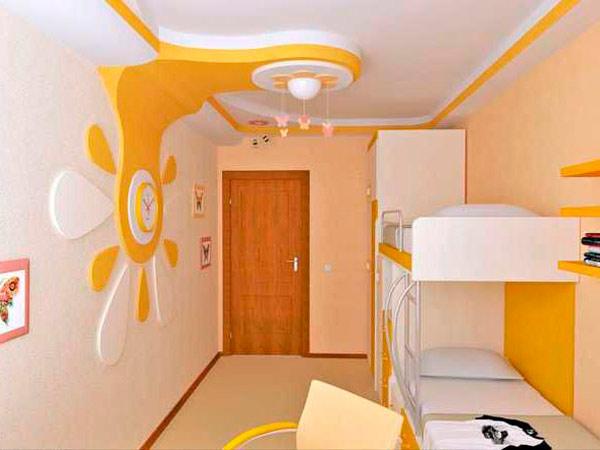 Подсветка в детской комнате - фото