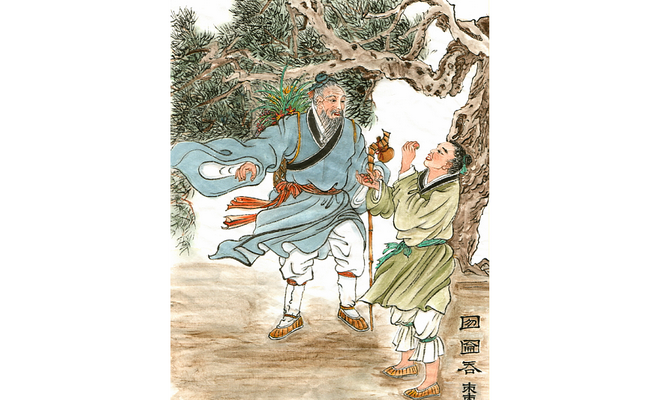 Китайские идиомы: проглотить финик целиком 囫圇吞棗