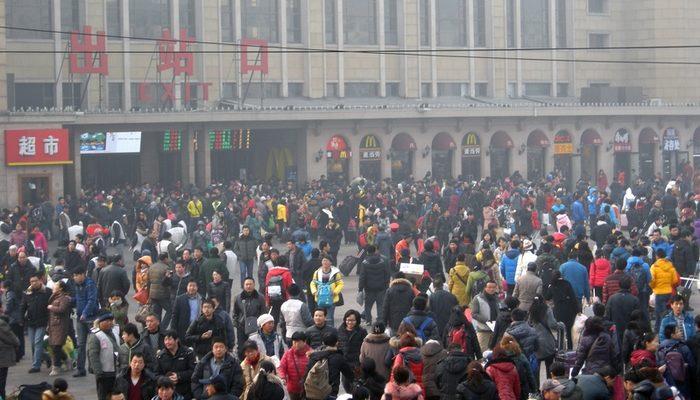 В Китае началась ежегодная великая миграция