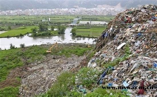 Гора из мусора. Деревня Цяотоулянь провинции Чжэцзян. Фото с epochtimes.com