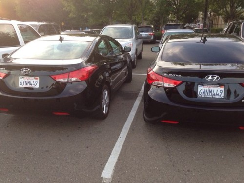 одинаковые номера авто