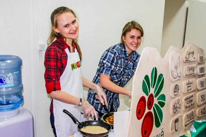 В кафе скандинавской кухни Brusnika. Ресторанный день в Нижнем Новгороде. Фото: Юлия Карпова
