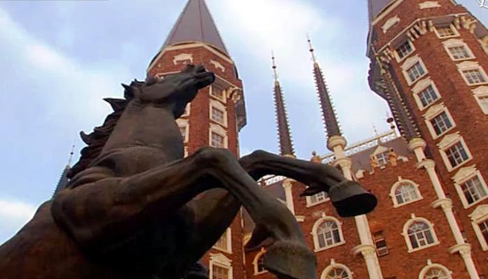 Академия, похожая на Хогвартс, появилась в Китае (видео)