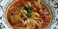 Суп из говядины с лапшой долголетия  ––  древний рецепт для празднования китайского Нового Года!
