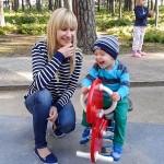 Счастливый   ребенок.   Фото:  Наталья Громозда/ Великая Эпоха