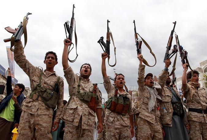 Повстанцы в Йемене.Фото: MOHAMMED HUWAIS/AFP/Getty Images