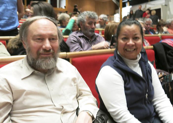 Банкир Петер Стравидес был в числе зрителей концерта Shen Yun в Женеве, Швейцария. Фото: Delong/Epoch Times