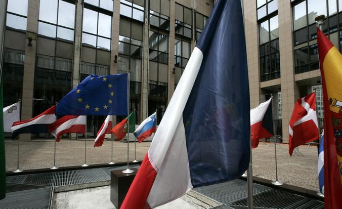 Здание штаб-квартиры Европейского Союза в Брюсселе. Фото: GERARD CERLES/AFP/Getty Images