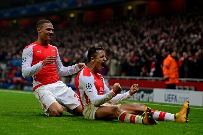 Английский клуб «Арсенал».  Фото: Jamie McDonald/Getty Images