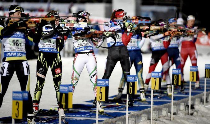 Ольга Зайцева выиграла серебро в индивидуальной гонке биатлонисток