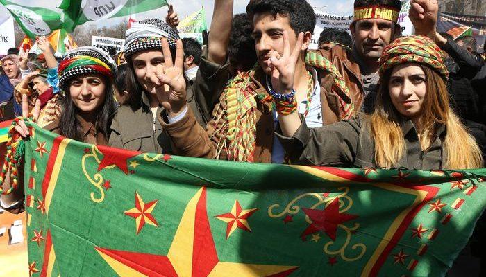 Курды провели митинг в Турции (видео)
