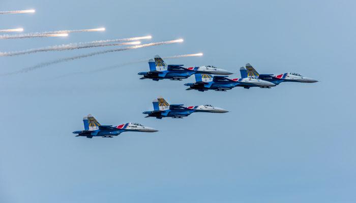 «Стрижи» и «Русские витязи» продемонстрируют высший пилотаж в Китае