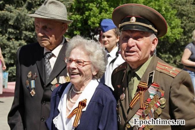 Ветераны. Фото: Олег Мякушко/Великая Эпоха