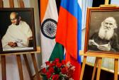 выставка, Индия, Лев Тостой, Махатма Ганди
