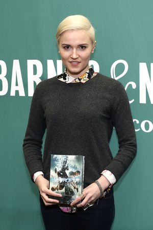 "Veronica Roth Attends The ""Insurgent"" Movie Tie-In Event"