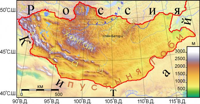 В Монголии зарегистрировано землетрясение магнитудой 5,1