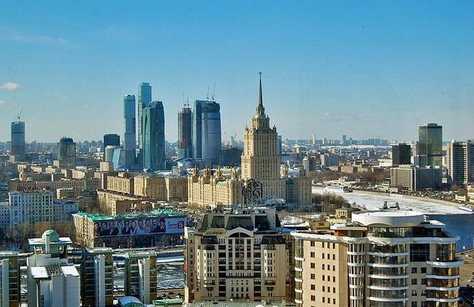 «Москва-Сити». Фото: wikimedia.org