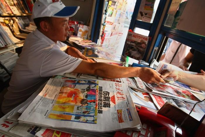 Китайские СМИ являются инструментом пропаганды коммунистического режима. Фото: Andrew Wong/Getty Images