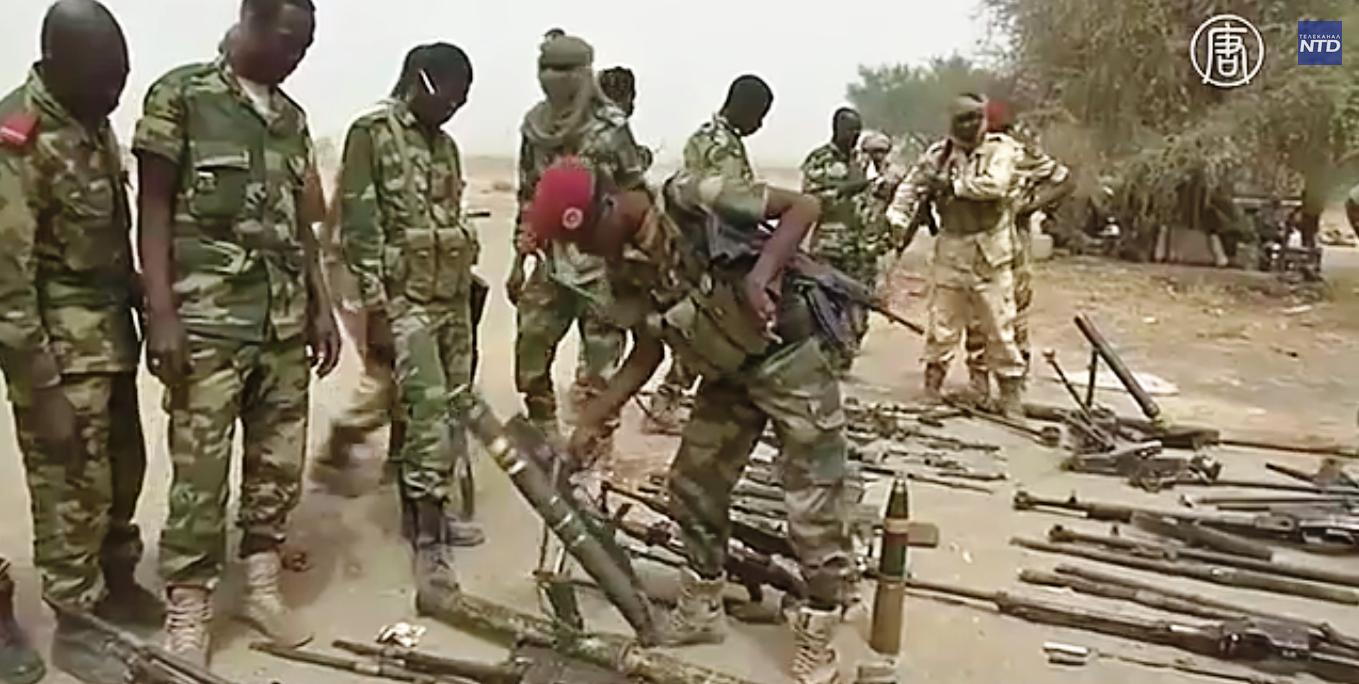 «Боко харам» присягнула на верность «Исламскому государству».  Скриншот видео: Телеканал NTD