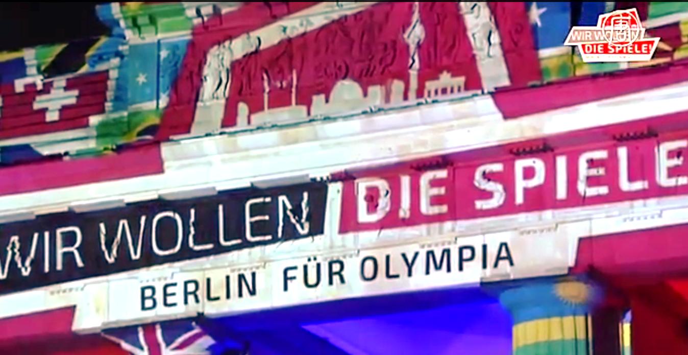 В Берлине уже имеются 15 из 30 необходимых олимпийских сооружений. Скриншот видео: Телеканал NTD