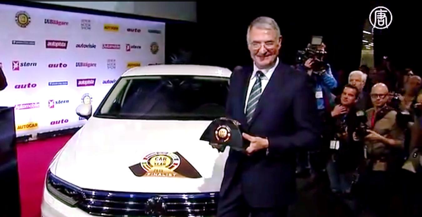 Volkswagen Passat выпускается с 1973 года.  Скриншот видео: Телеканал NTD