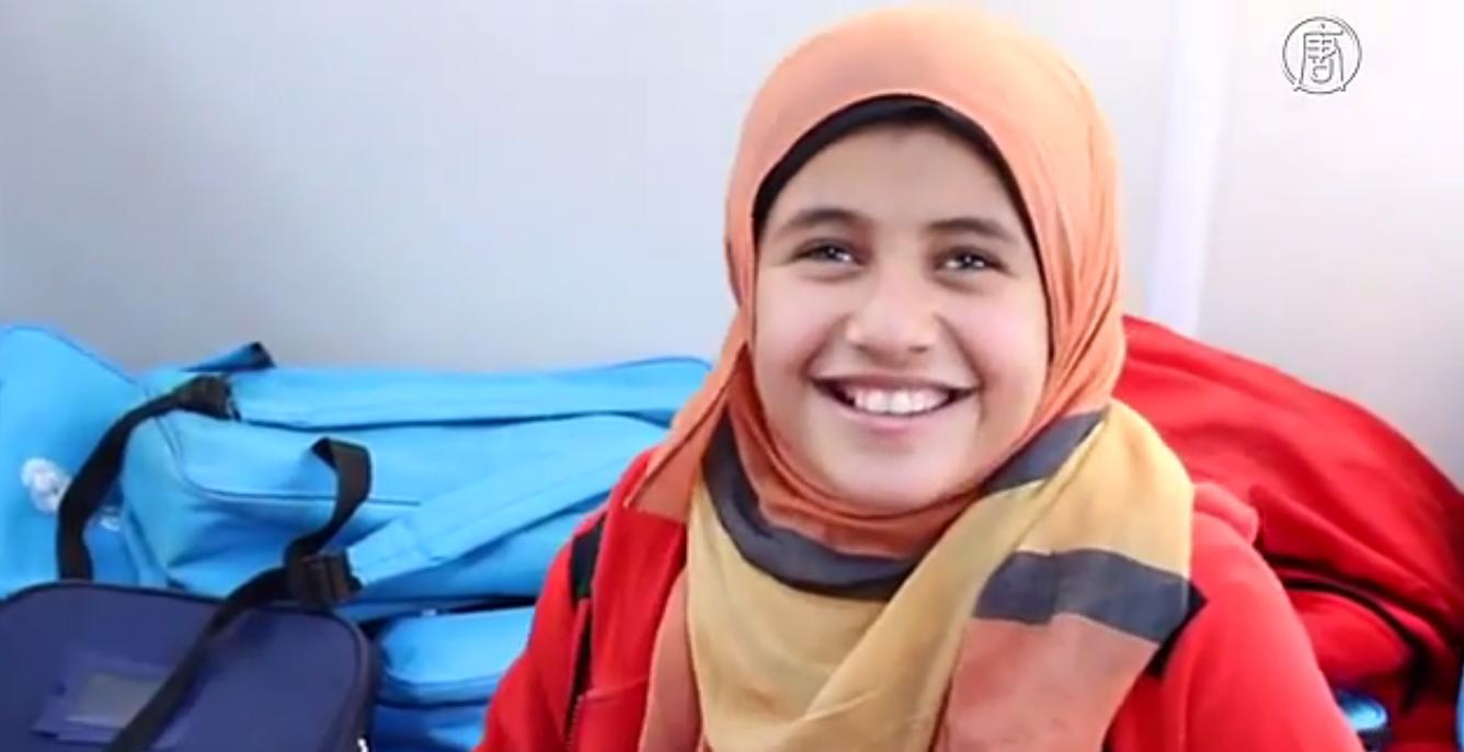 Сирия может потерять целое поколение детей из-за конфликта. Скриншот видео: Телеканал NTD