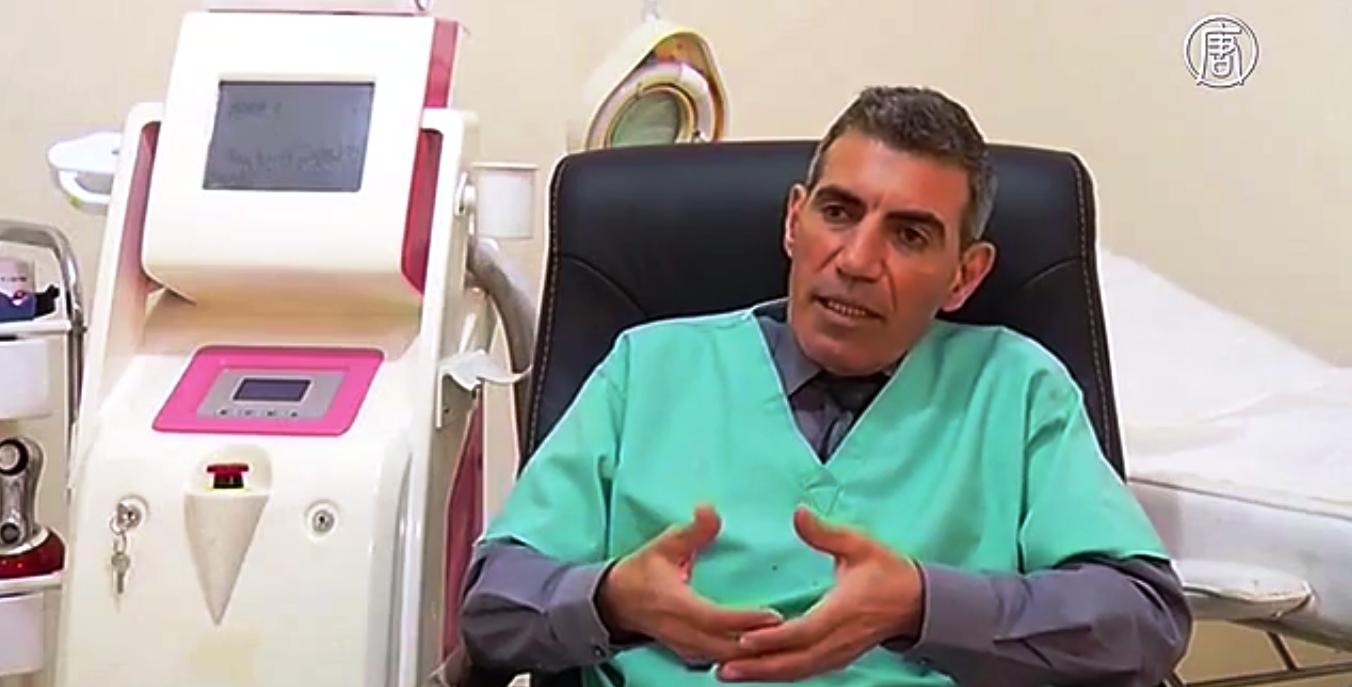 Салах эль-Занин, пластический хирург. Скриншот видео: Телеканал NTD