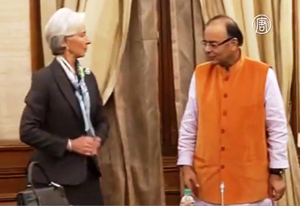 Международный валютный фонд повысил свою оценку экономического роста Индии. Скриншот видео: Телеканал NTD