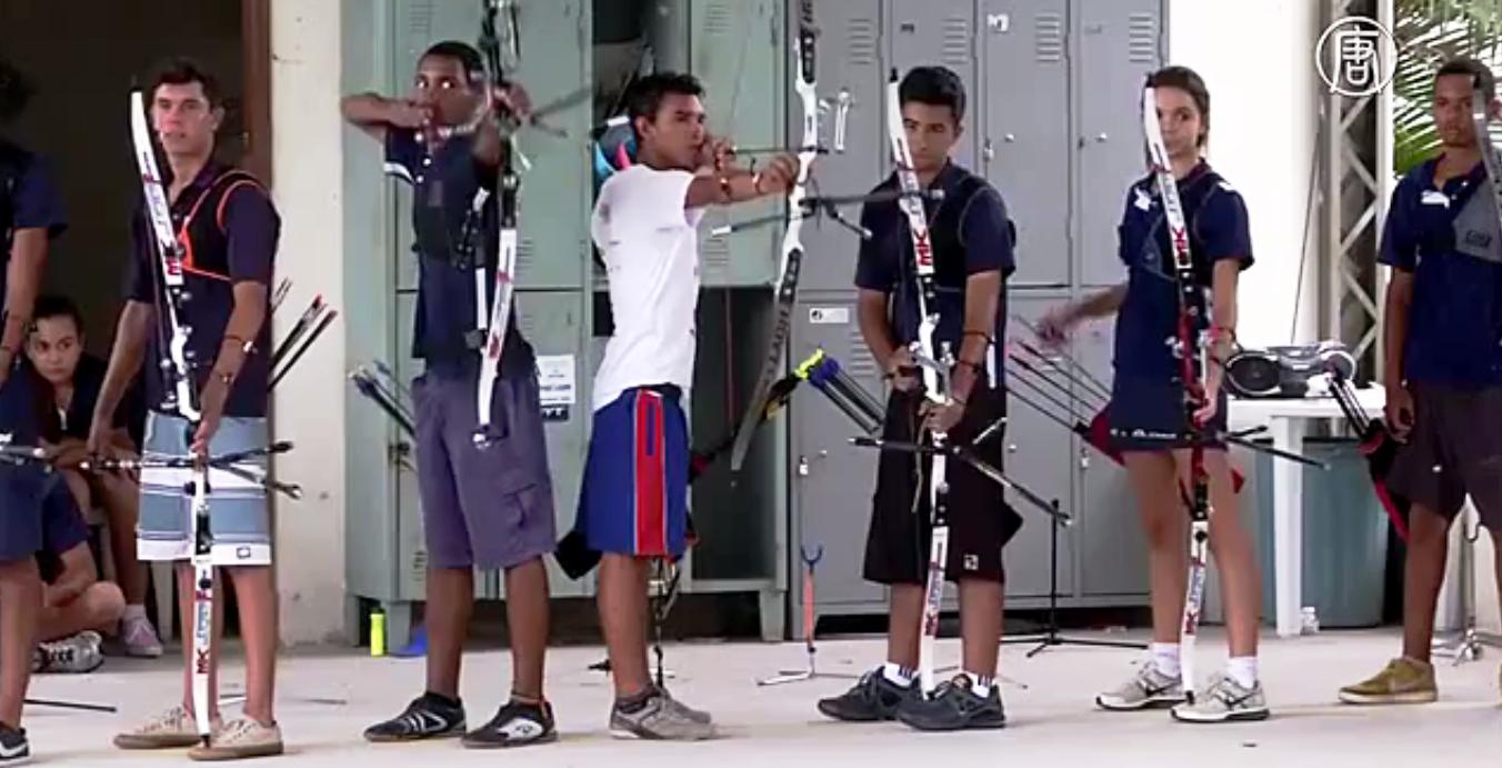 Лучники. Скриншот видео: Телеканал NTD