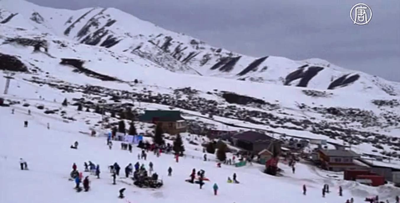 Это горы Кыргызстана. Скриншот видео: Телеканал NTD