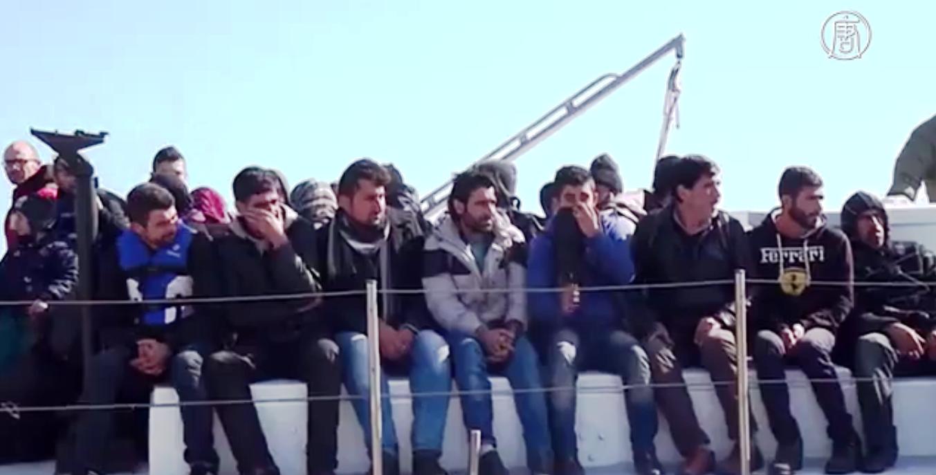 Незаконная миграция людей из стран Африки остается большой проблемой для Евросоюза. Скриншот видео: Телеканал NTD