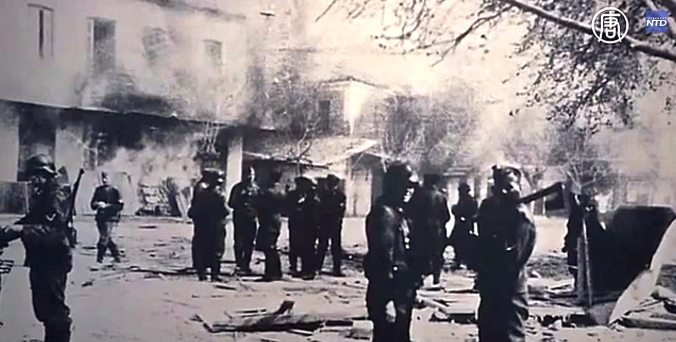 Решение Верховного суда Греции касается зверского убийства нацистами жителей греческой деревни Дистомо в 1944 году.  Скриншот видео: Телеканал NTD