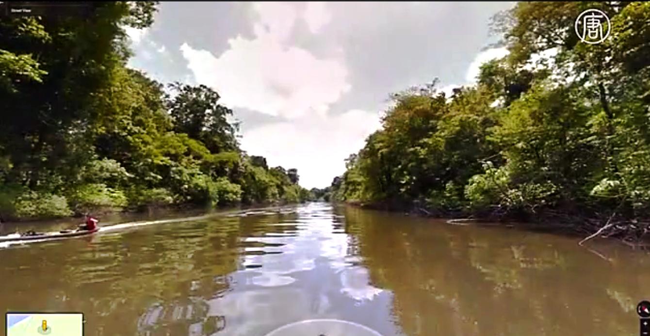 Чтобы получить необходимый материал, команда проекта преодолела около 500 километров на лодках. Скриншот видео: Телеканал NTD