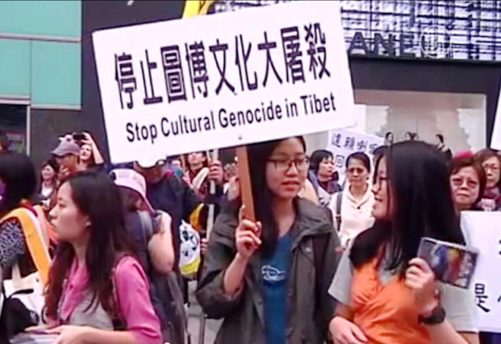 Тибетцы говорят, что власти Китая разрушают их культуру. Скриншот видео: Телеканал NTD
