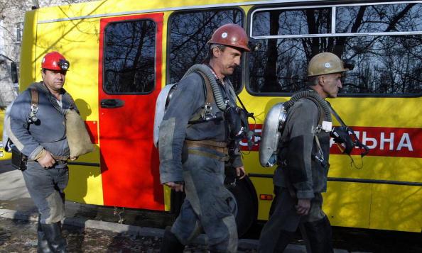 Украина, шахта, Донецк, взрыв, МЧС