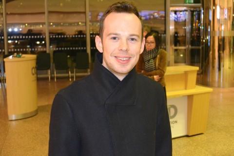 Художник-реалист Дейр Палмер насладился выступлением Shen Yun в Центре конгрессов в Дублине, 27 марта. Фото: Epoch Times