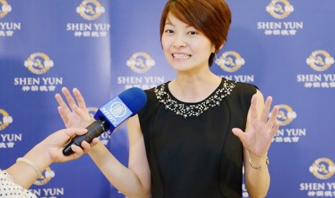 Творческая интеллигенция Тайваня восхищена Shen Yun