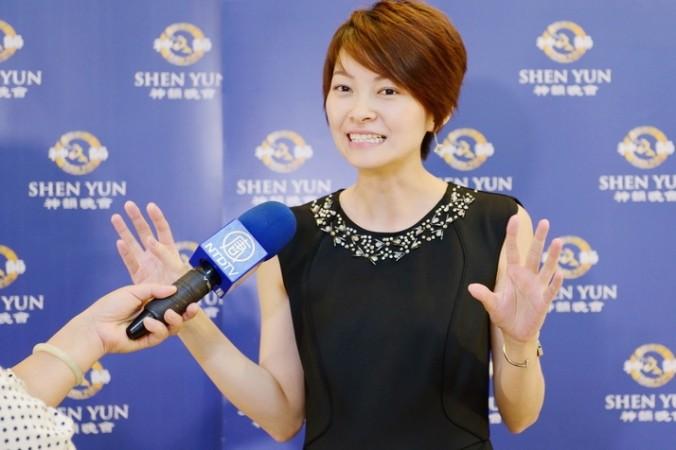 Ли Шихуа, директор компании Hau & Wang Culture Creation, на втором представлении Shen Yun в тайваньском городе Тайчжуне 19 марта 2015 г. Фото: Su Yufen/Epoch Times