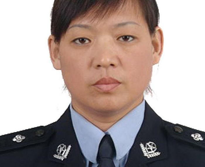 Сотрудница полиции Цуй Хуэйфан. Фото: minghui.org