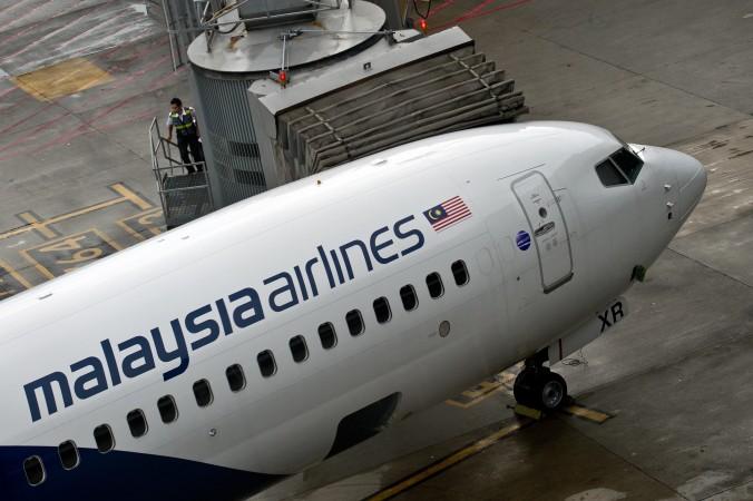 Ссамолёт Malaysia Airlines