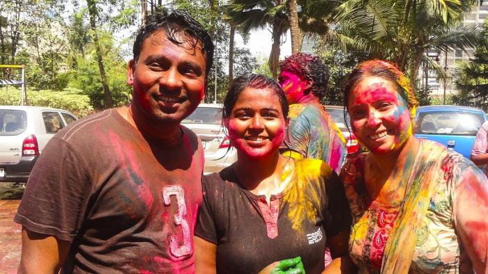 Индия встречает весну красками Холи