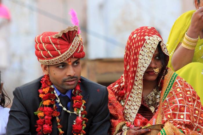 В Индии невеста бросила жениха, обнаружив его безграмотность