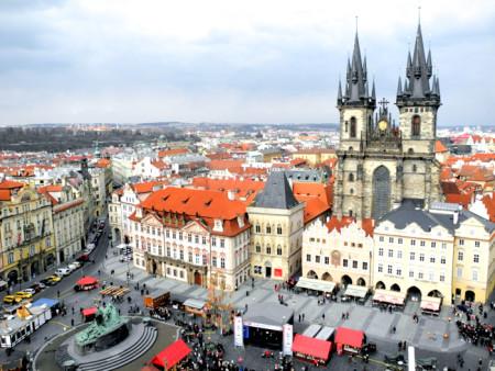 Лучшая обзорная площадка в Праге. Фото: Алла Лавриненко/Великая Эпоха