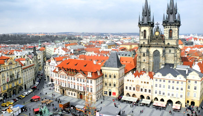 Лучшая обзорная площадка в Праге