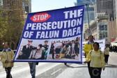 Последователи Фалуньгун призывают мировое сообщество остановить репрессии их единомышленников в Китае. Сидней, Австралия. 2014 год. Фото: The Epoch Times