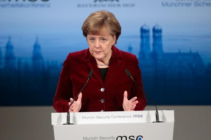 Канцлер ФРГ Ангела Меркель. Фото: Johannes Simon / Getty Images