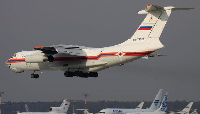 Российский самолёт, задержанный в Нигерии, перевозил груз из Франции